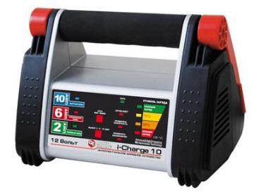 Зарядное устройство Quattro Elementi (Ergus) i-Charge 10 (12В, 10/6/2 А) полный автомат