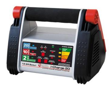 Зарядное устройство Quattro Elementi (Ergus) i-Charge 20 (12 / 24В, 20/10/2 А) полный автомат