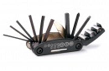 Ключ многофункциональный JK-9934 14 шт набор шестигранников черный
