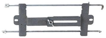 Крепление АКБ планка с двумя крючками
