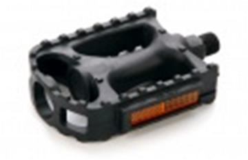 Комплект педалей платформенные FP-806 105*82*25мм 9/16 FEIMIN черный