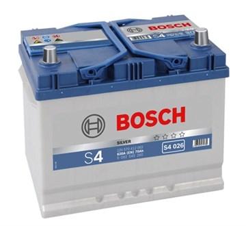 Bosch Silver S4 026 (570 412 063), автомобильный аккумулятор