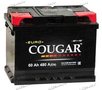 Автомобильный аккумулятор Cougar Energy 60 (прямая полярность)