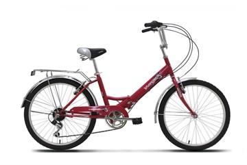 """Велосипед  Wind Flash 24"""" 6-скор. 16"""" рама красный"""
