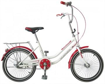 "Велосипед Wind Cherry 20"" 1-скор. белый"