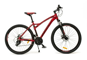 "Велосипед Wind Elbrus 27,5"" 21-скор. 18"" серо-синий"