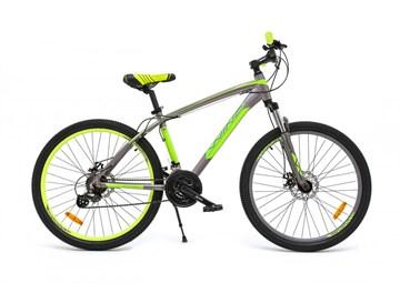 """Велосипед Wind Everest 26"""" 21-скор. 16,5"""" серо-зеленый"""