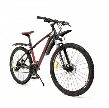 """Велосипед Wind K2 27,5"""" 24-скор. 18"""" черно-красный"""