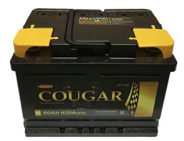 Автомобильный аккумулятор Cougar 60 Euro (обратная полярность)