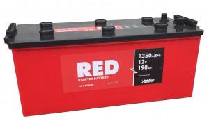 Грузовые аккумуляторы RED Technology 6СТ-190