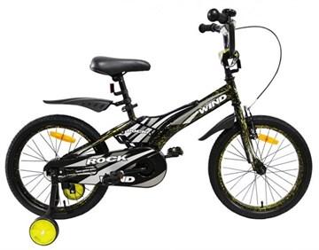 "Детский велосипед WIND ROCK, 18"", хаки"