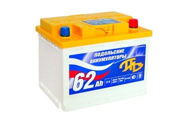 ПАЗ 6СТ-62 NR, автомобильный аккумулятор