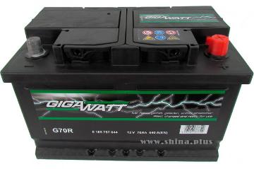 Аккумулятор Gigawatt G70R 570 144 064