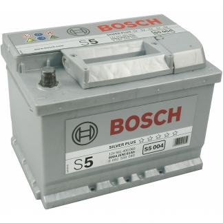 Bosch Silver S5 004, автомобильный аккумулятор