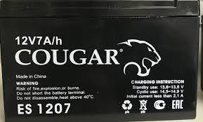 Cougar ES 1207, аккумуляторная батарея для ИПБ