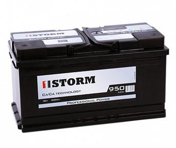 STORM Professional Power 125 А*ч (обратная полярность) АКБ для автомобилей, грузовиков