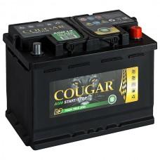 Аккумулятор Cougar AGM L3 для автомобилей премиум-класса (обратная полярность)
