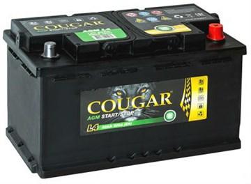 Аккумулятор Cougar AGM L4 для автомобилей премиум-класса (обратная полярность)