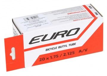 """Велосипедная камера 20""""х1.75/2.125, нипель 35 мм, Евро"""