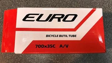 Велосипедная камера 700*35С  ниппель 35 мм Евро