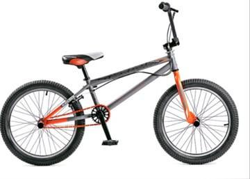 BLACK AQUA Jump 2.0 matt - велосипед BMX, серо-оранжевый