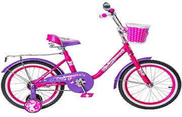"""Велосипед BLACK AQUA Princess 18"""" 1-скор розово-сиреневый (2017)"""