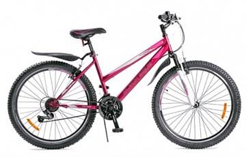 Велосипед BLACK AQUA Lady 2681 фиолетовый (2018)