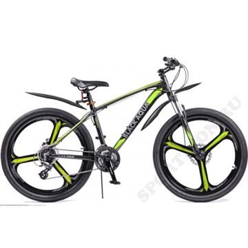 Велосипед BLACK AQUA Cross 2692 D matt (2018), лимонный