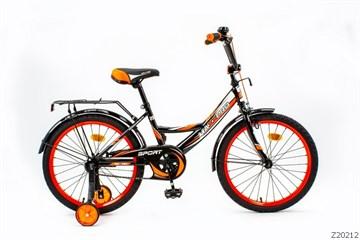 Велосипед MAXXPRO SPORT 20, чёрно-оранжево-белый