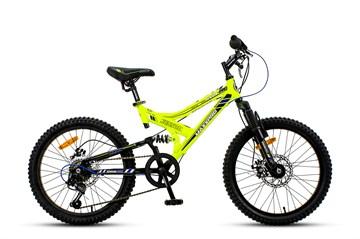 Велосипед MAXXPRO SENSOR 20 PRO желто-черный