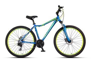 Велосипед MAXXPRO MIRAGE 27.5 ULTRA сине-салатовый