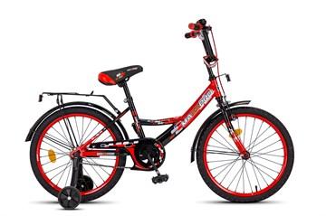 Детский велосипед MAXXPRO красно-черный