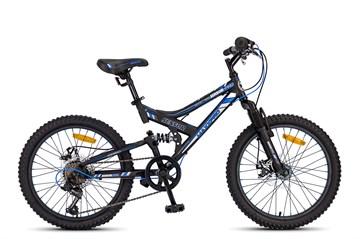 Велосипед MAXXPRO SENSOR 20 PRO, чёрно-синий