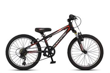 Велосипед MAXXPRO HELLCAT 20, чёрно-красно-белый