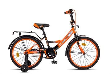 Детский велосипед MAXXPRO оранжево-черный