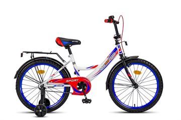 Велосипед MAXXPRO SPORT 20 бело-сине-красный