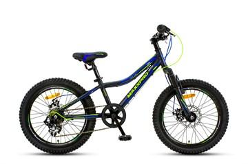 Велосипед MAXXPRO STEELY 20 ULTRA черно-сине-салатовый