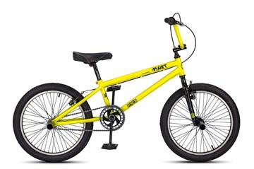 Трюковый велосипед MAXXPRO KRIT, желтый