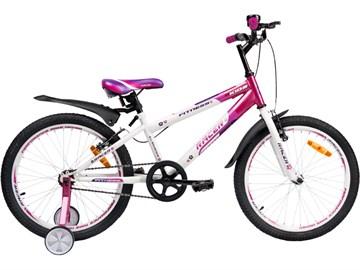 Детский спортивный велосипед RACER 20-001, оранжевый