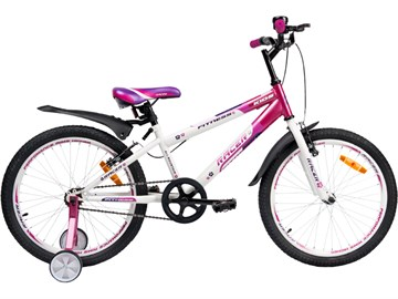 Детский спортивный велосипед детский RACER 20-001, розовый