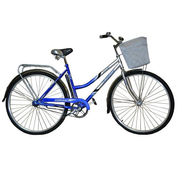 Велосипед 2-х колесный с корзиной Байкал 2809 жен. (ВЫСТАВОЧНЫЙ)
