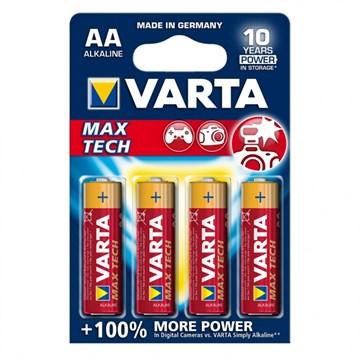 Элемент питания Varta Max Tech LR6 BL4 NEW+