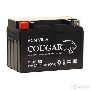 Мото аккумулятор Cougar AGM VRLA YTX9-BS