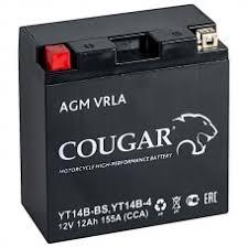 Мото аккумулятор Cougar AGM VRLA 12V12 YT14B-BS
