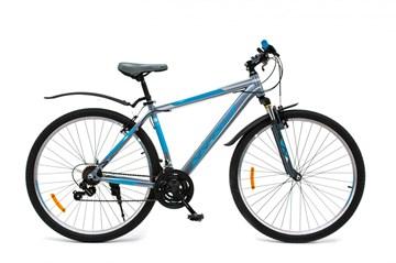 """Горный велосипед-найнер WIND VESUVIUS 29"""", 21-скор., серо-синий"""