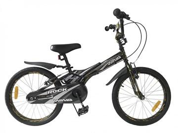 "Детский велосипед WIND ROCK 20"", хаки"